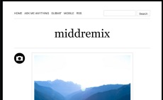 MiddRemix--Tumblr for Remix Culture