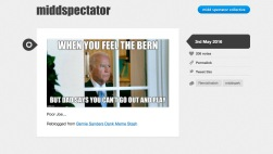 MiddSpectator -- Tumblr for Theories of Spectatorship